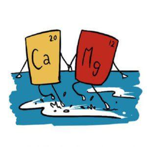 سختی کلسیم و منیزیم (calcium and magnesium hardness)