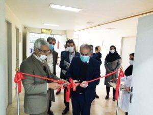 افتتاح آزمایشگاه شرکت آبریزان